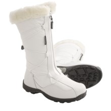 Baffin Halifax Snow Boots - Waterproof, Insulated, Full Zip (For Women) in White - Closeouts