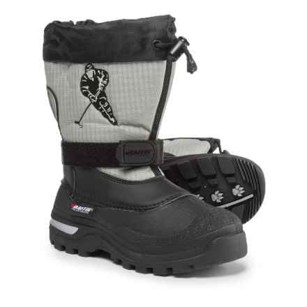 Baffin Hockey Pac Boots - Waterproof, Insulated (For Boys) in Black - Closeouts
