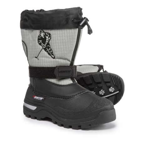 Baffin Hockey Pac Boots - Waterproof, Insulated (For Boys) in Black
