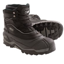 Baffin Journey Snow Boots - Insulated, Leather (For Men) in Black - Closeouts