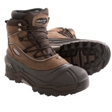 Baffin Journey Snow Boots - Insulated, Leather (For Men) in Worn Brown - Closeouts