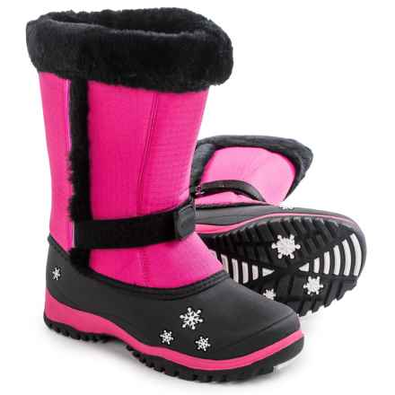 Baffin Lily Pac Boots - Waterproof, Insulated (For Big Girls) in Hyper Berry - Closeouts