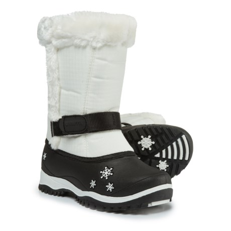 Baffin Lily Pac Boots - Waterproof, Insulated (For Big Girls) in White