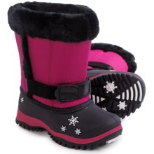 Baffin Lily Snow Boots - Waterproof, Insulated (For Toddlers) in Hyper Berry - Closeouts