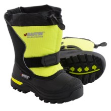 Baffin Mustang Snow Boots - Waterproof (For Toddlers) in Black/Floro Green - Closeouts