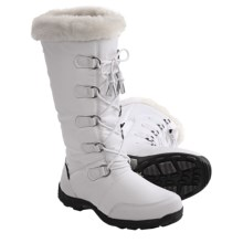Baffin New York Snow Boots - Waterproof, Insulated (For Women) in White - Closeouts