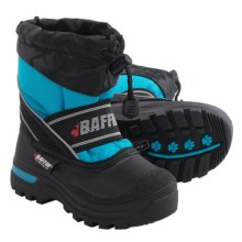 Baffin Snobear Snow Boots - Waterproof, Insulated (For Little Kids) in Electric Blue - Closeouts