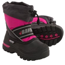 Baffin Snobear Snow Boots - Waterproof, Insulated (For Little Kids) in Hyper Berry - Closeouts