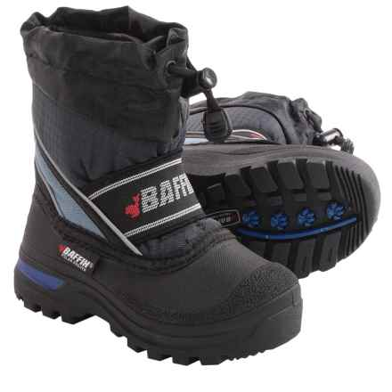 Baffin Snobear Snow Boots - Waterproof, Insulated (For Toddlers) in Navy Blue - Closeouts