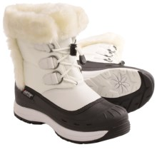 Baffin Snobunny Snow Boots - Waterproof, Insulated (For Women) in White - Closeouts