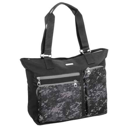 baggallini Cargo Tote Bag (For Women) in Black Scatter - Closeouts