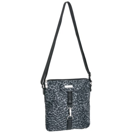 2bc65d015ed2 baggallini Clip Crossbody Bag (For Women) in Charcoal - Closeouts