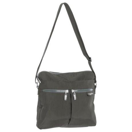 baggallini Comrade Crossbody Bag (For Women) in Charcoal