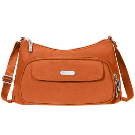 baggallini Everyday Crossbody Bag (For Women) in Papaya - Closeouts