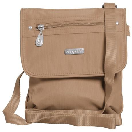 baggallini Flap 2 It Crossbody Bag (For Women) in Beach