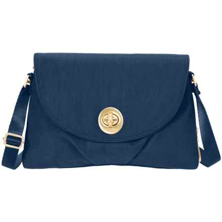 baggallini Gold Nassau Crossbody Bag (For Women) in Pacific - Closeouts