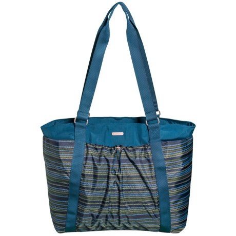 baggallini Have It All Weekender Bag (For Women) in Moss Stripe Multi