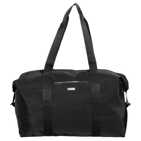 baggallini Large Travel Duffel Bag (For Women) in Black/Sand Lining