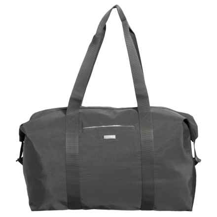 baggallini Large Travel Duffel Bag (For Women) in Charcoal - Closeouts