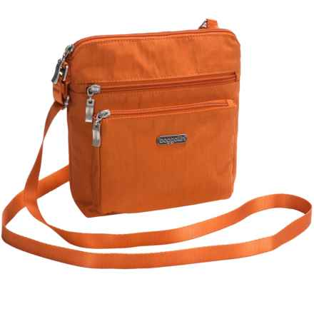 baggallini Pocket Crossbody Bag (For Women) in Papaya - Closeouts