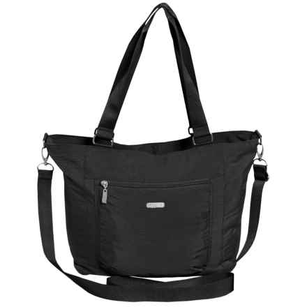 baggallini Pocket Tote Bag (For Women) in Black/Sand Lining - Closeouts
