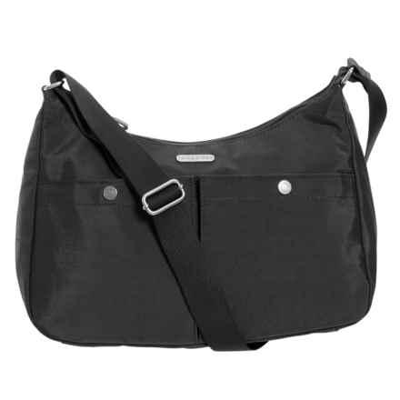 baggallini Snap It Medium Hobo Bag (For Women) in Black - Closeouts