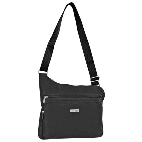 Baggallini Square Group Hp Bag For Women In Black