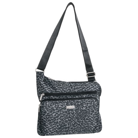 392448cbecca1 baggallini Square Group HP Bag (For Women) in Charcoal Cheetah