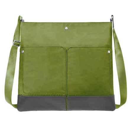 baggallini The Porter Crossbody Bag (For Women) in Grasshopper - Closeouts