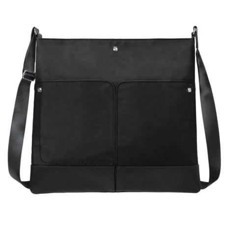 baggallini The Porter Crossbody Bag (For Women) in Raven