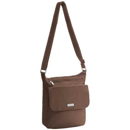 baggallini Town Crossbody Bagg (For Women) in Mushroom - Closeouts
