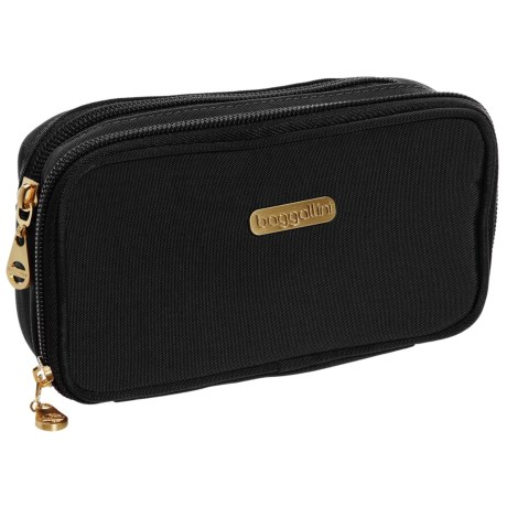 baggallini Vienna Cosmetic Case (For Women) in Black