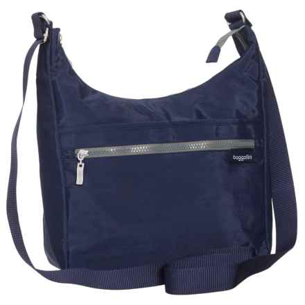 baggallini Vislon Sidekick Hobo Bag (For Women) in Navy - Closeouts