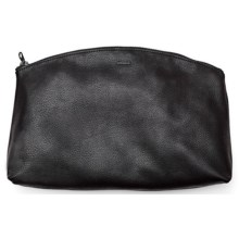Baggu Leather Clutch (For Women) in Black - Closeouts
