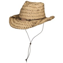 Bailey Blair Cowboy Hat - Straw (For Men and Women) in Natural - Closeouts