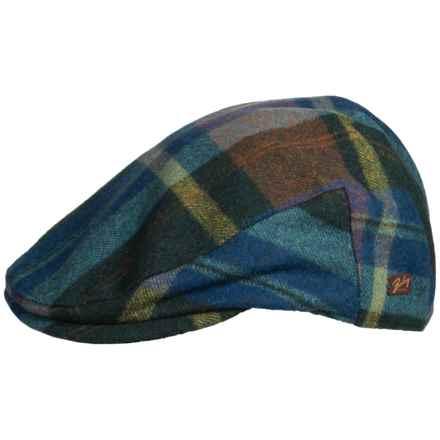 Bailey Kottler Classic Flat Cap (For Men) in Hunter Plaid - Closeouts