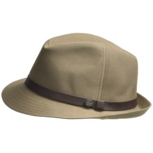Bailey of Hollywood Bowman Fedora (For Men) in Tan - Closeouts