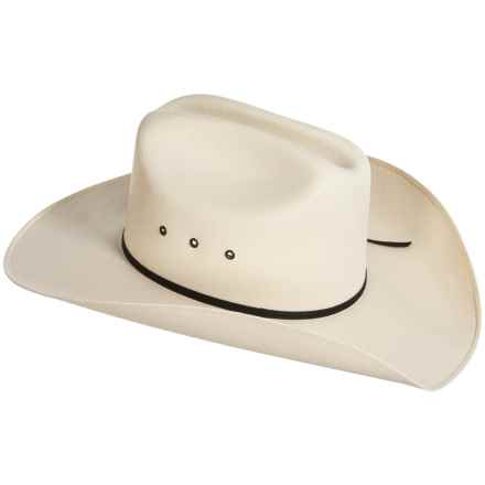 Bailey of Hollywood Carmine Straw Cowboy Hat (For Men and Women) in Natural - Closeouts