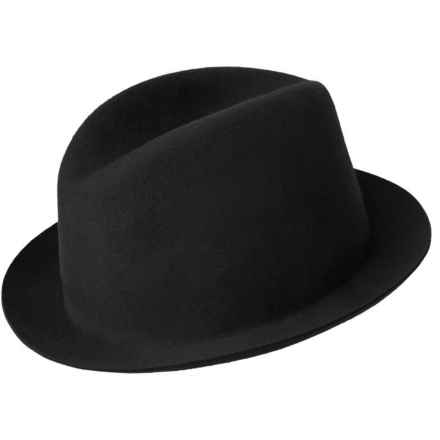 Bailey of Hollywood Chipman LiteFelt® Fedora (For Men) in Black - Closeouts