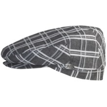 Bailey of Hollywood Cooke Plaid Cap (For Men) in Charcoal - Closeouts