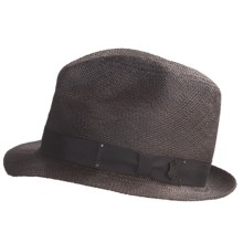 Bailey of Hollywood Distressed Knott Hat (For Men) in Black - Closeouts