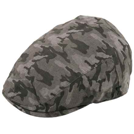 Bailey of Hollywood Donlon Driving Cap (For Men) in Dark Grey - Closeouts