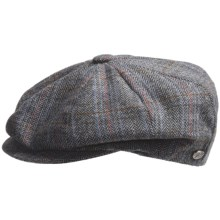 Bailey of Hollywood Galvin Astor Cap - Herringbone (For Men) in Lead - Closeouts