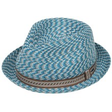 Bailey of Hollywood Mannes Fedora (For Men) in Beachy Blue - Closeouts