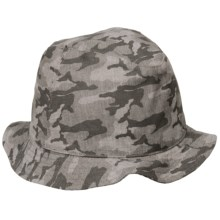 Bailey of Hollywood Nickerson Bucket Hat (For Men) in Dark Grey - Closeouts