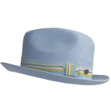 Bailey of Hollywood Salem Fedora Hat (For Men) in Sky Blue - Closeouts