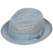 Bailey of Hollywood Wilshire Fedora Hat (For Men) in Powder Blue - Closeouts