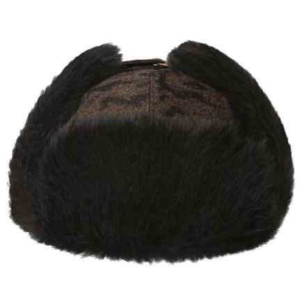 Bailey Pelham Trapper Hat (For Men and Women) in Brick Melange - Closeouts