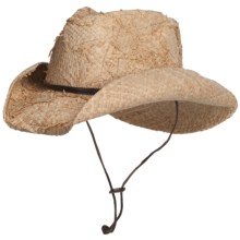 Bailey Sandy Cowboy Hat - Straw, Pinch Front (For Men and Women) in Natural - Closeouts