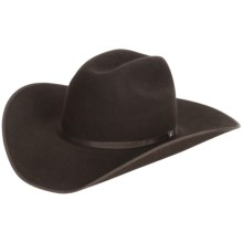 Bailey Wyoming Cowboy Hat - 5X Felt, Cheyenne Crown (For Men and Women) in Chocolate - Closeouts
